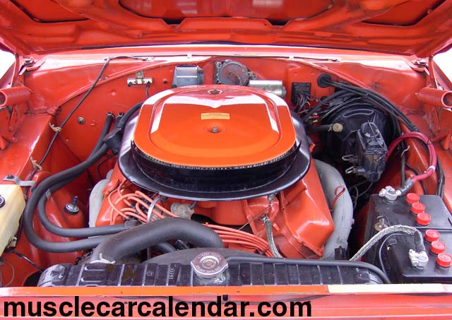 1970 Superbird 440 Six Pack 4 Speed Air Cleaner Assembly
