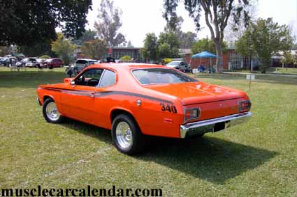 Look Out For Johnny Law 1973 Plymouth Duster 340 Six Pack