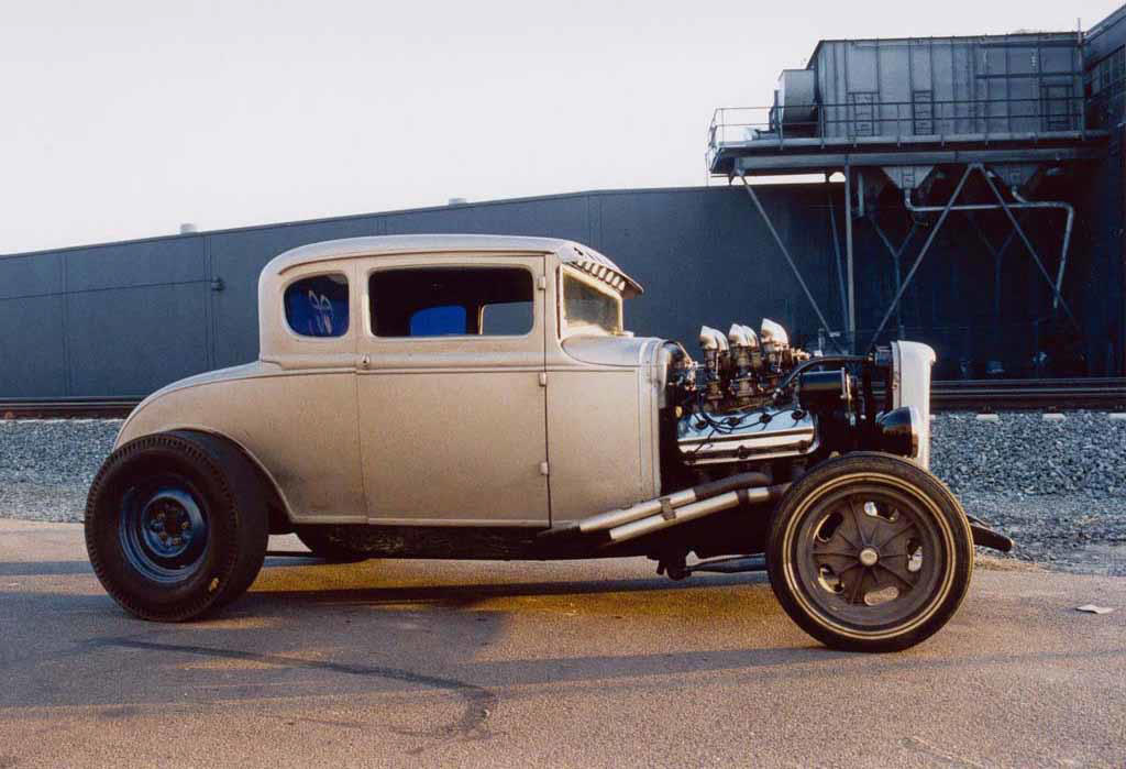 Jimmy White from Circle City Hot Rods in Orange California and his ...