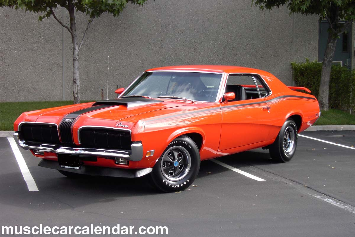 1970 Mercury Cougar Eliminator 428 Super Cobra Jet Drag Pak