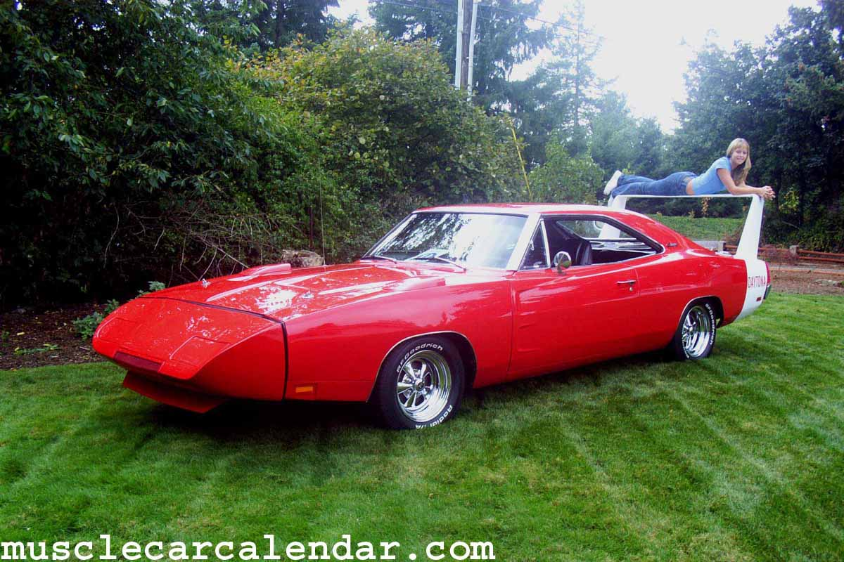 Awesome Muscle Car Pictures Of A Daytona Clone