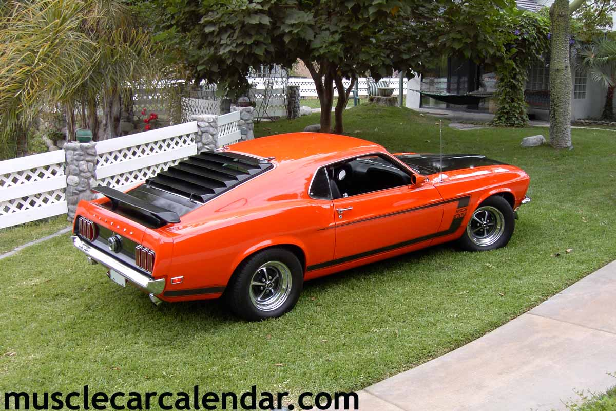 HUGE muscle car pictures of a 1969 Boss 302 with built 351 ...