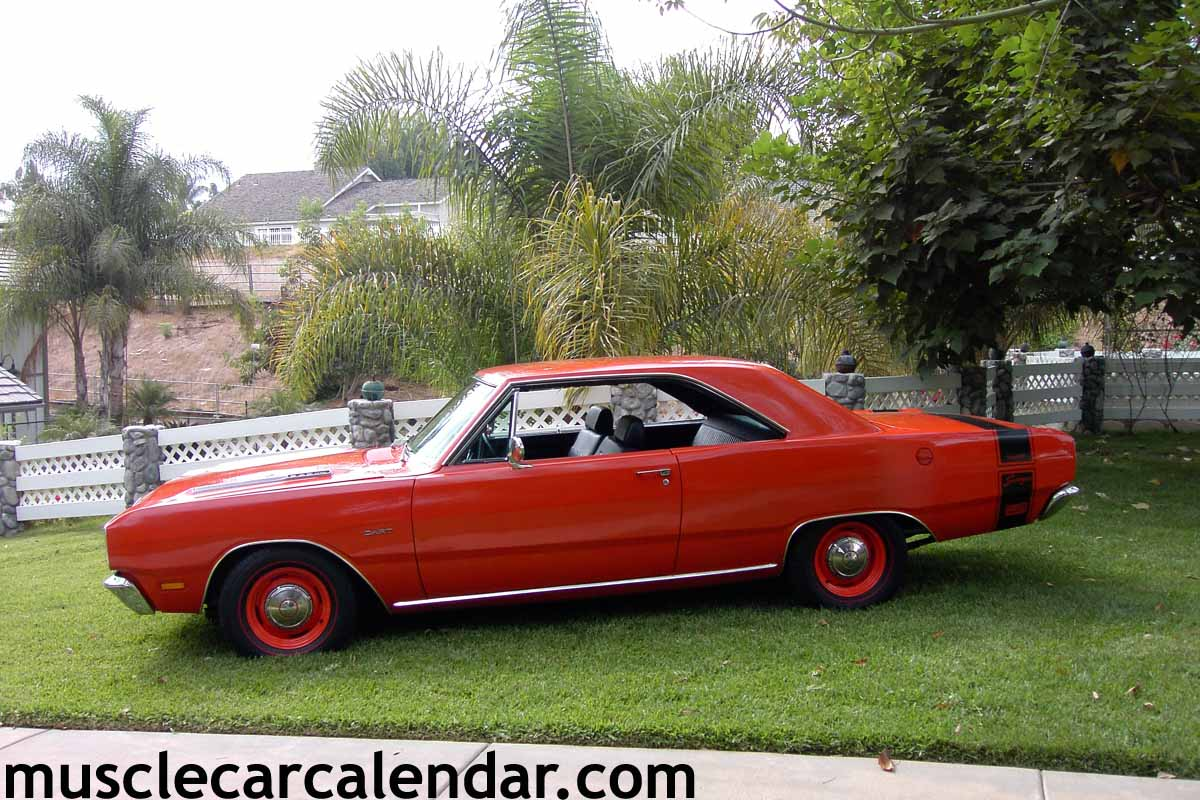 Best digital muscle car pictures in the world of a 1969 Dart Swinger ...
