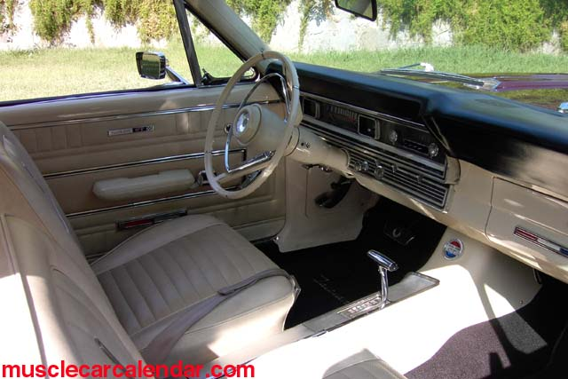1967 Ford Fairlane GTA 390 Interior